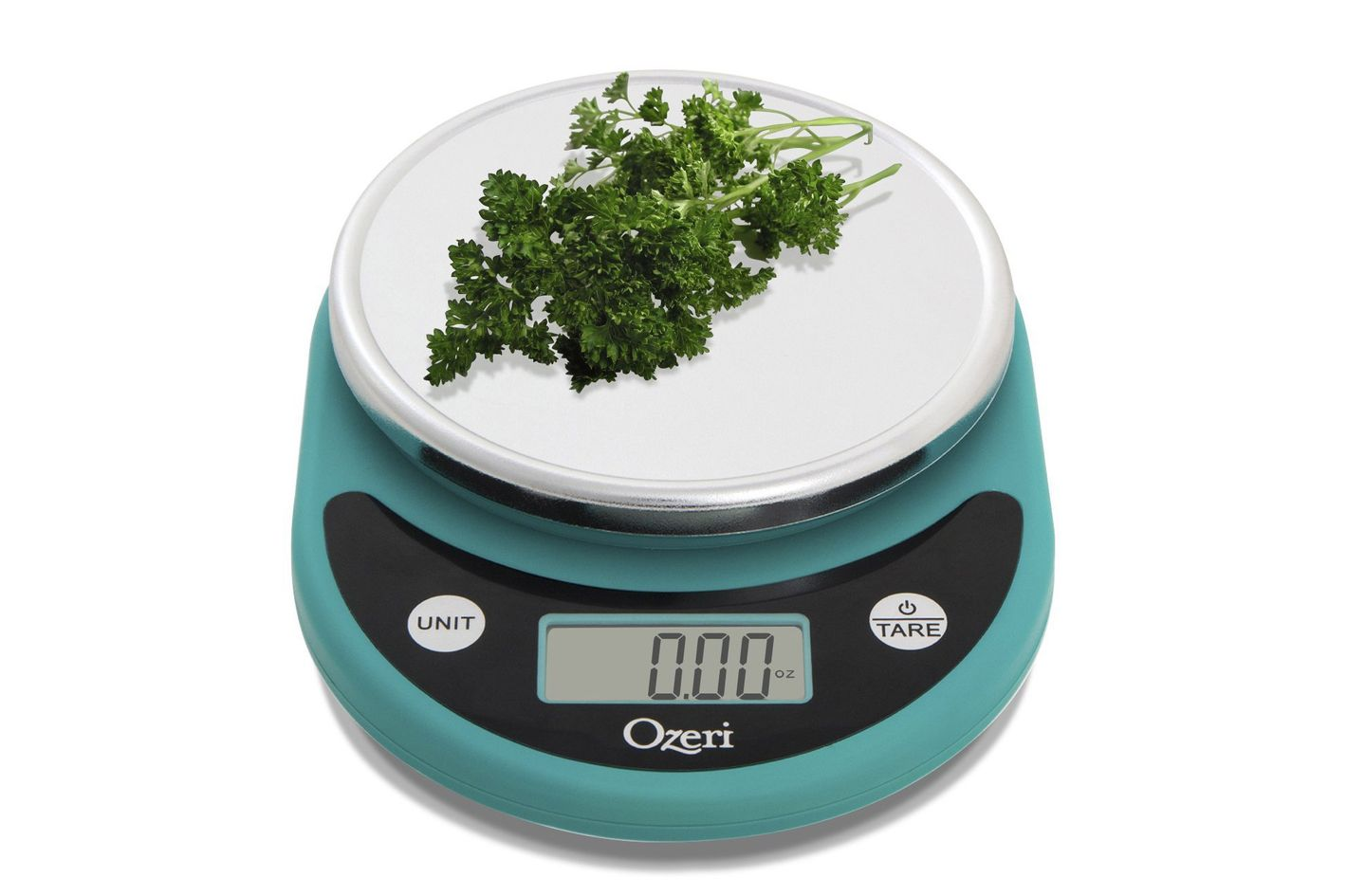 ozeri digital kitchen food scale teal