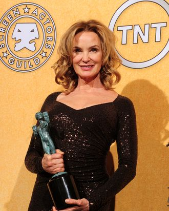 Jessica Lange holds the award for best actress in a drama series
