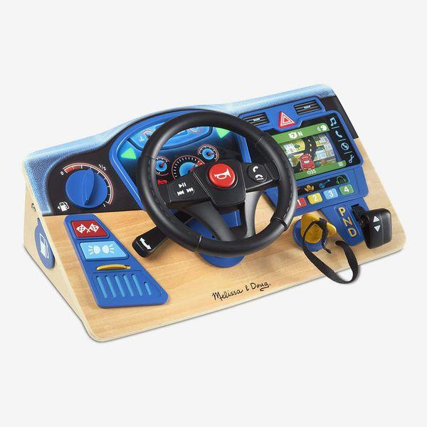 Vroom & Zoom Wooden Dashboard