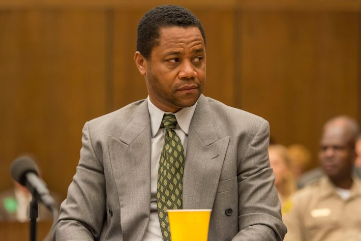 "THE PEOPLE v. O.J. SIMPSON: AMERICAN CRIME STORY ""A Jury In Jail"" Episode 108 (Airs Tuesday, March 22, 10:00 pm/ep) -- Pictured: Cuba Gooding, Jr. as O.J. Simpson. CR: Prashant Gupta/FX"