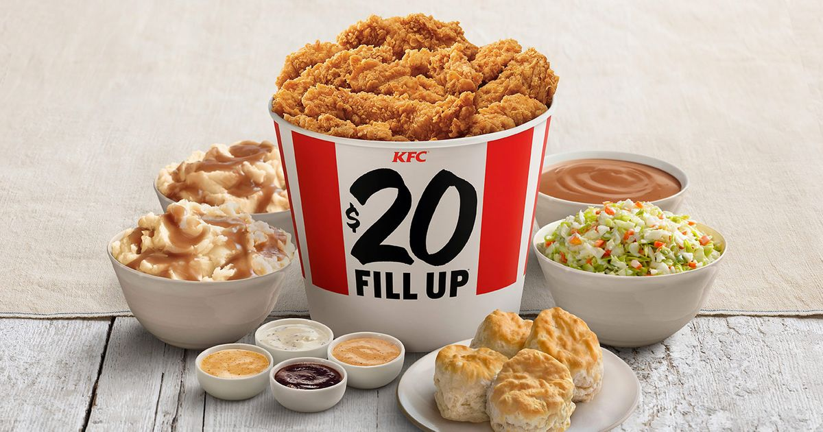 Woman Sues KFC for Underfilling Its Buckets