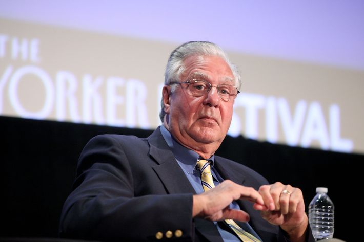 "NEW YORK - OCTOBER 02:  Former U.S. Representative Dick Armey speaks at ""Tea Party"" a panel discussion at the 2010 New Yorker Festival at DGA Theater on October 2, 2010 in New York City.  (Photo by Amy Sussman/Getty Images the New Yorker) *** Local Caption *** Dick Armey"