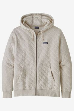 Patagonia Organic-Cotton Quilted Full-Zip Hoodie