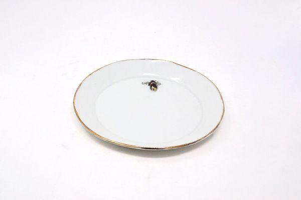 Botticelli Ceramics Delicate Bee Plate