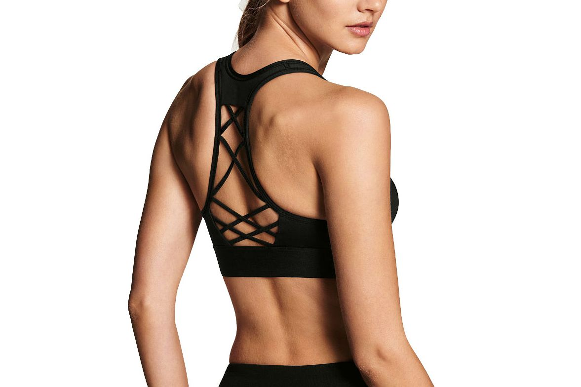 Victoria's Secret the Player by Victoria Sport Lace-Up Sport Bra