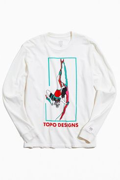 Topo Designs Red Mountain Long Sleeve Tee