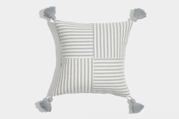 Madewell x The New Denim Project Square Pillow