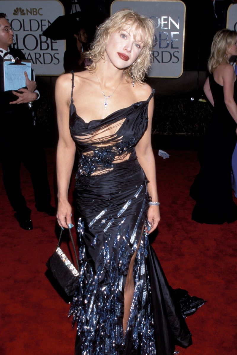 Courtney Love S Shredded Taffeta Dress Christian Dior