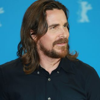 Actress Christian Bale at the photo call. Photocall for the