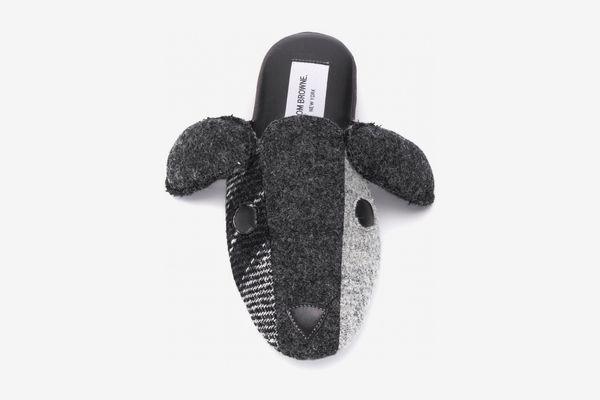 Thom Browne Shetland Wool Hector Slipper