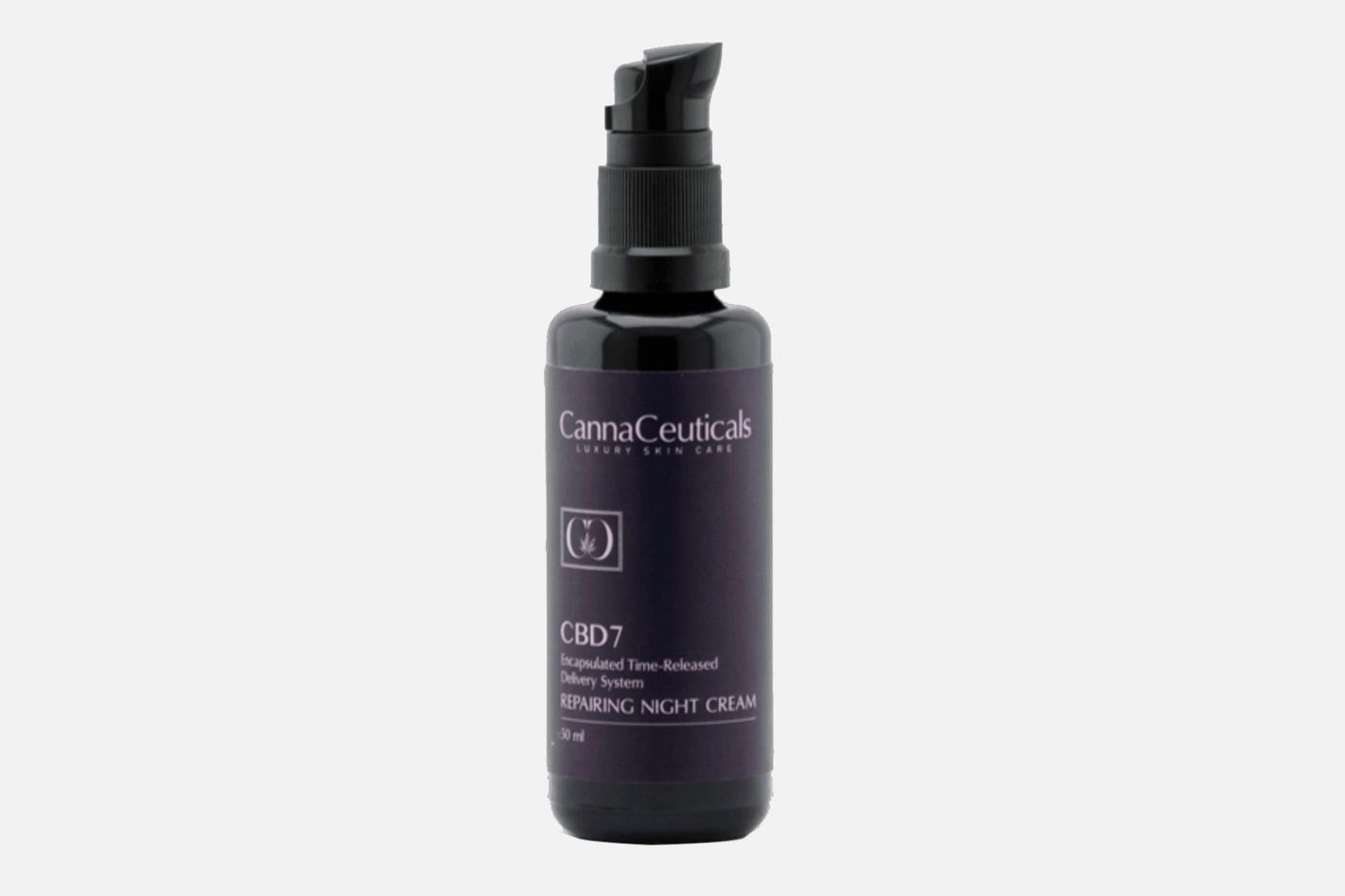 Isodiol Cannaceuticals Repairing Night Cream