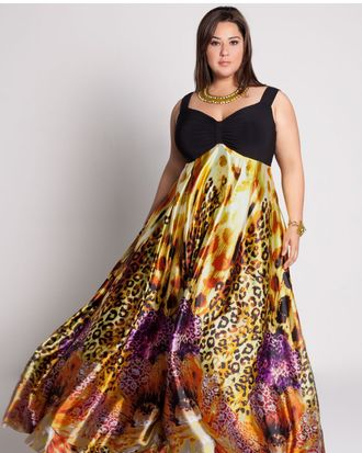 A look by designer IGIGI by Yuliya Raquel, who will present her collection at Full Figured Fashion Week.