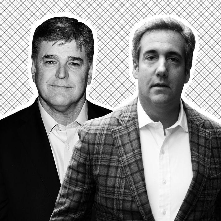 Sean Hannity, Michael Cohen.