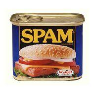 Spam, bam, no thank you, m'am.