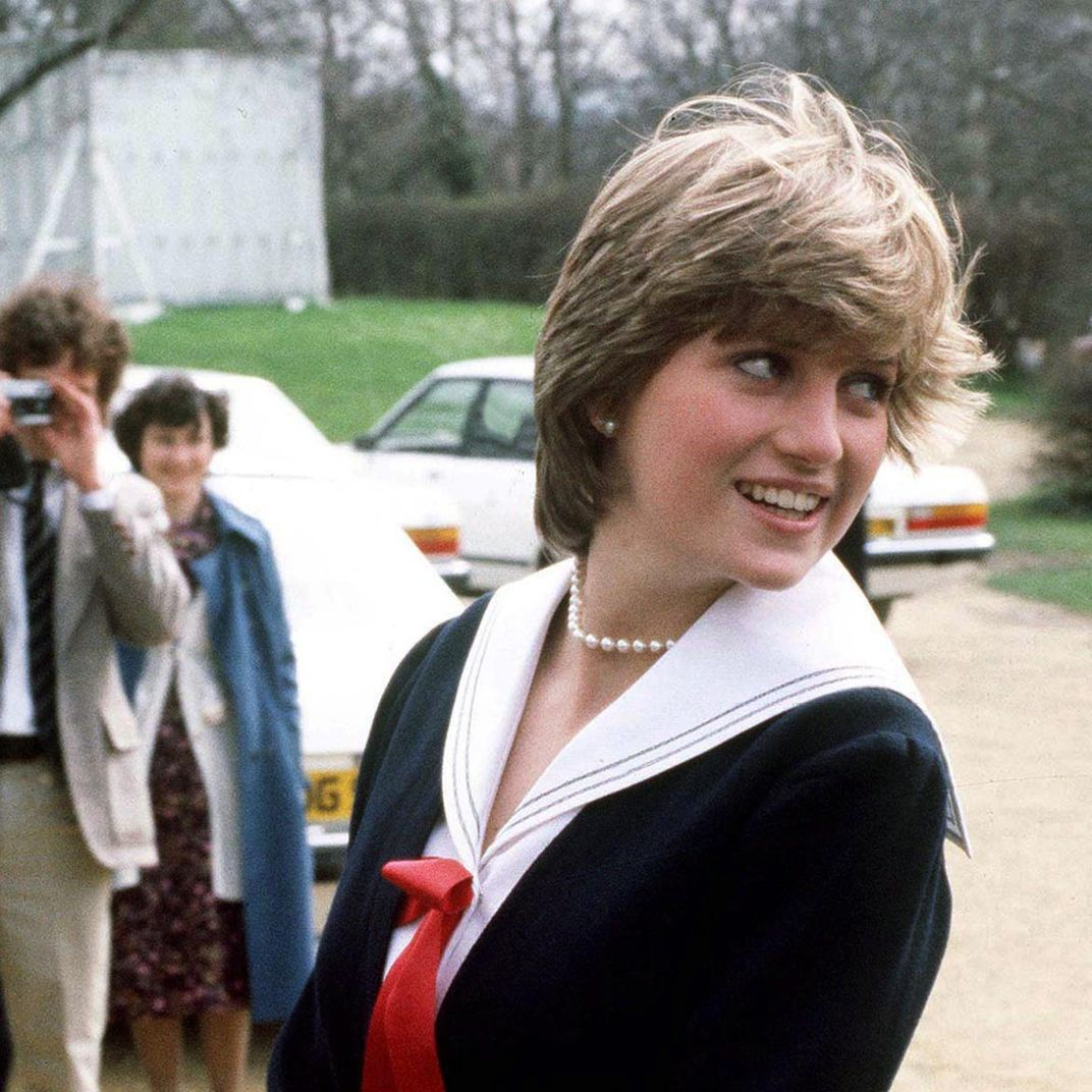 Princess Diana Fashion Exhibit Opens At Kensington Palace