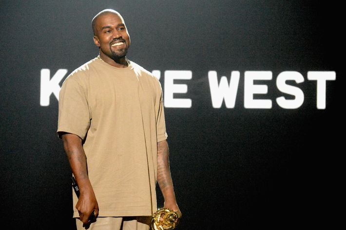 Kanye. Photo: Jeff Kravitz/MTV1415/FilmMagic