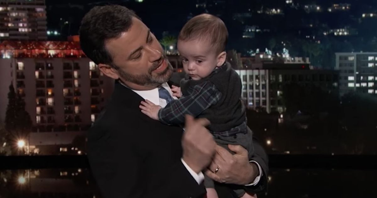 Jimmy Kimmel Joined By Baby Billy To Discuss Chip Crisis