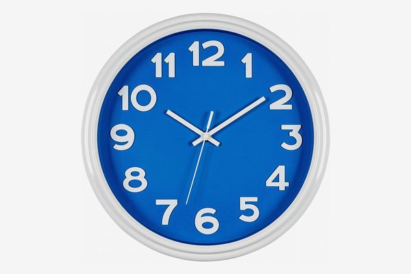Bernhard Products Blue Wall Clock
