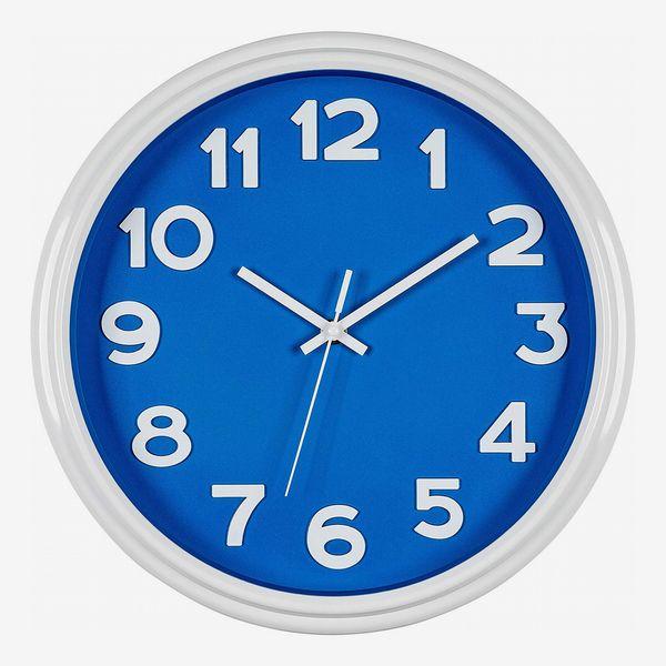 Bernhard Products Blue Wall Clock
