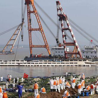 CHINA-YANGTZE-ACCIDENT-SHIP
