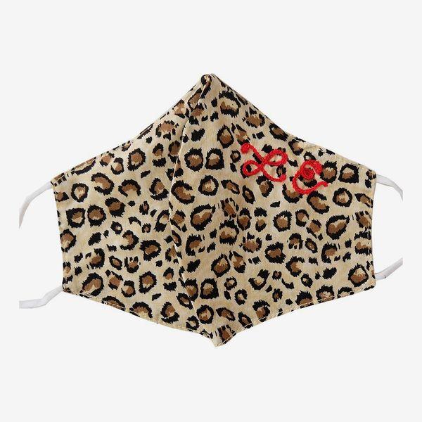 Daily Disco Custom Leopard Adult Face Mask