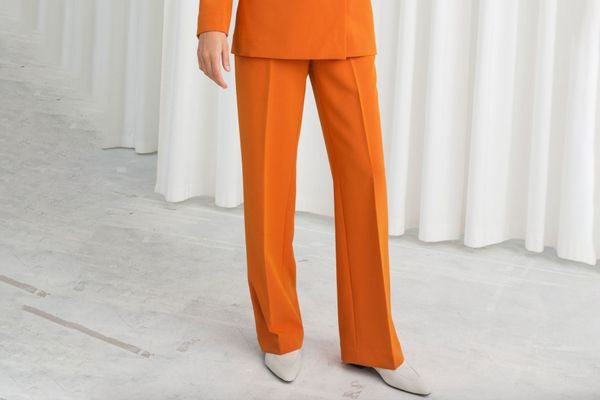 & Other Stories Mid Rise Tailored Pants