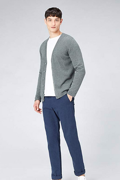 find. Men's Cotton Button Down Cardigan Sweater