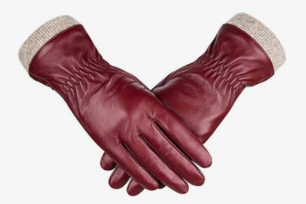 Alepo Sheepskin Leather Touchscreen Driving Gloves
