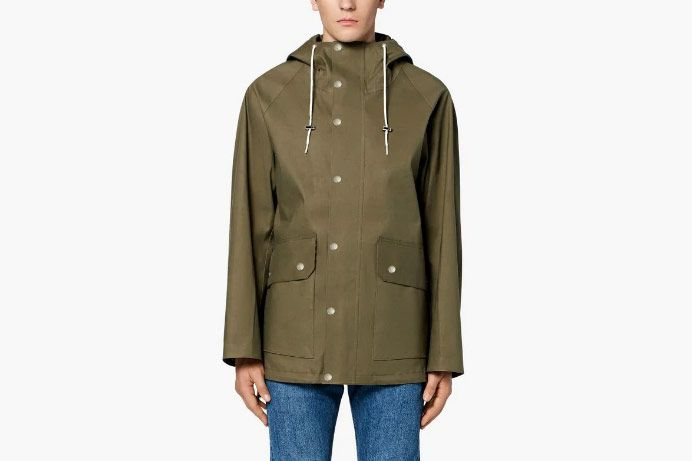 Mackintosh Bonded Cotton Oversized Field Parka