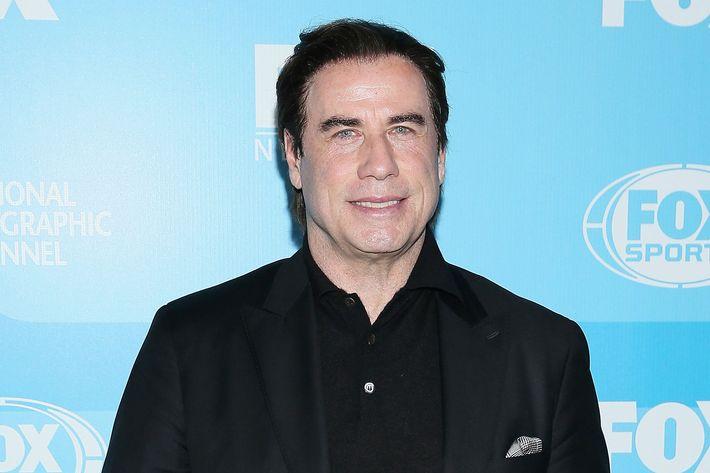 Travolta loves the duck.