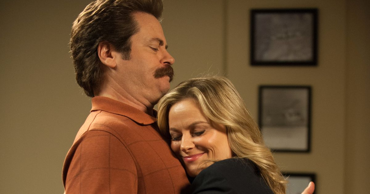 amy poehler nick offerman to host crafts show on nbc. Black Bedroom Furniture Sets. Home Design Ideas
