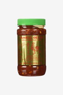 Huey Fong Sambal Oelek Chili Paste 8 oz (pack of 2)