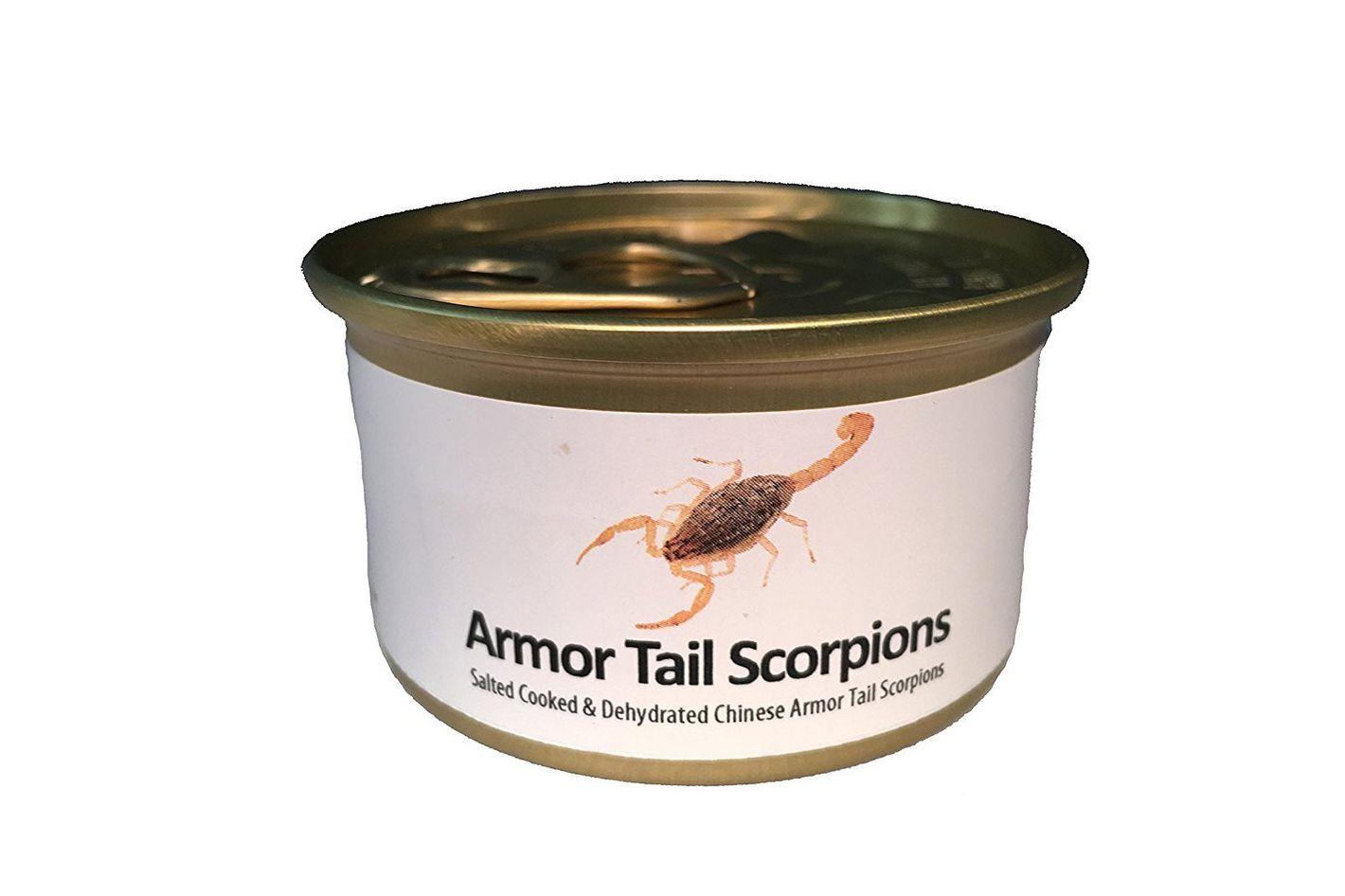 Edible Armor Tail Scorpions