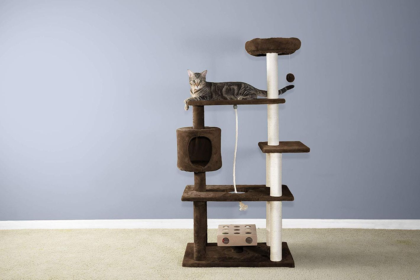 FurHaven Pet Cat Furniture Tiger Tough Cat Tree