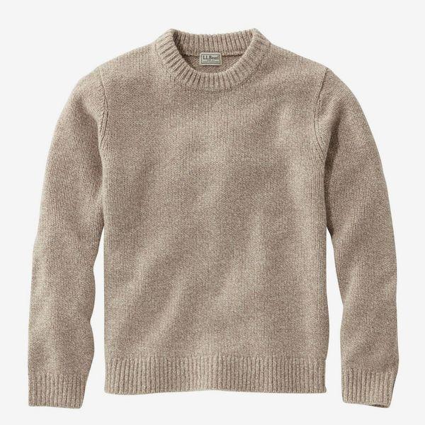 L.L. Bean Classic Ragg Wool Crewneck