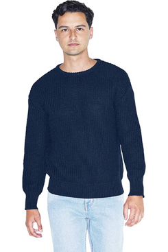 American Apparel Men's Fisherman's Long-Sleeve Pullover Knit Sweater