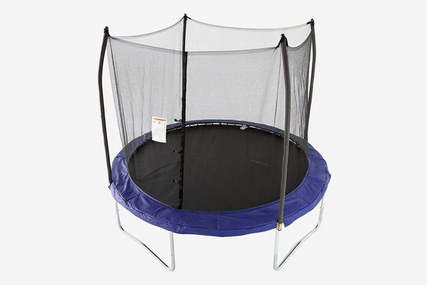 Skywalker Trampolines 10 -Foot Round Trampoline and Enclosure with spring