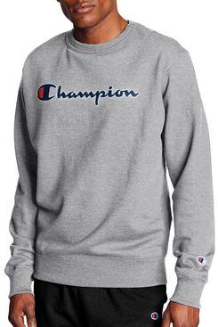 Champion Men's Powerblend Graphic Crew