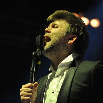 NEW YORK, NY - APRIL 02: LCD Soundsystem performs at Madison Square Garden on April 2, 2011 in New York City. (Photo by Theo Wargo/WireImage For NY Post)