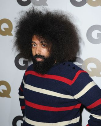 LOS ANGELES, CA - NOVEMBER 17: Entertainer Reggie Watts arrives at the 15th annual