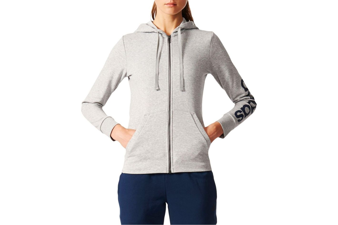 Adidas Essentials Liner Full Zipper Hoodie