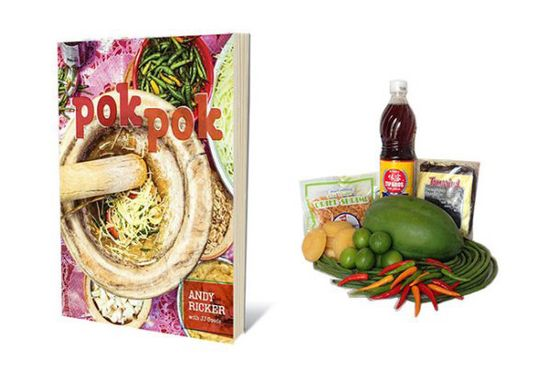 "Andy Ricker is an undisputed Thai authority, and his new cookbook teaches readers the secrets behind the food served at his small empire of Pok Pok restaurants. <a href=""http://www.templeofthai.com/"">Temple of Thai</a> even sells Ricker-approved ingredient bundles so your giftee can make a perfect Khao Man Som Tam without having to first take a trip to the market. <i><a href=""http://www.amazon.com/Pok-Stories-Roadside-Restaurants-Thailand/dp/1607742888"">Pok Pok: Food and Stories from the Streets, Homes, and Roadside Restaurants of Thailand</a></i>, $22; <a href=""http://www.templeofthai.com/food/pok-pok/"">Temple of Thai ingredients</a>, prices vary"