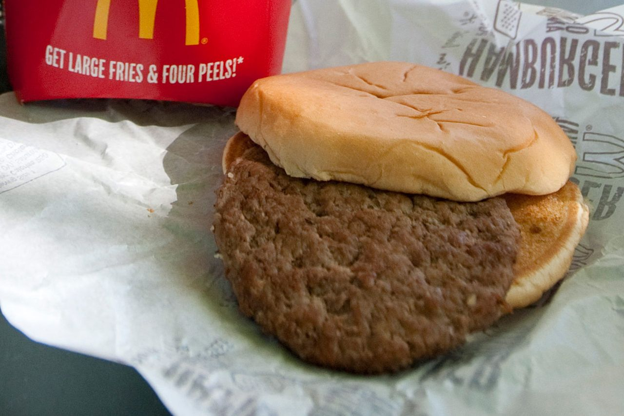 They're actually all pretty durable, these hamburgers.