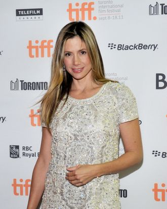 TORONTO, ON - SEPTEMBER 15: Actress Mira Sorvino arrives at