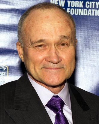 Commissioner of the New York City Police Department Ray Kelly