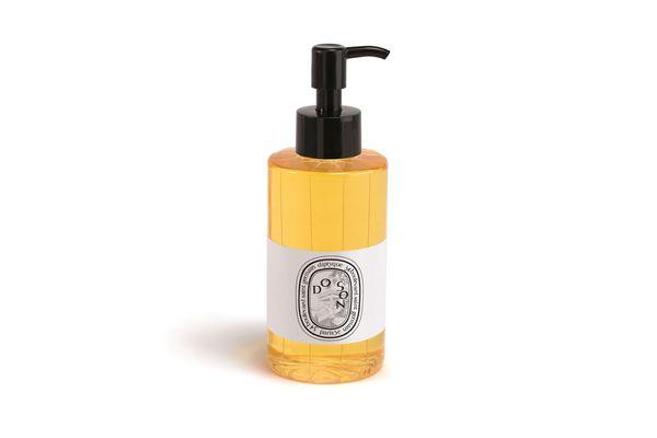 Diptyque Do Son shower oil.