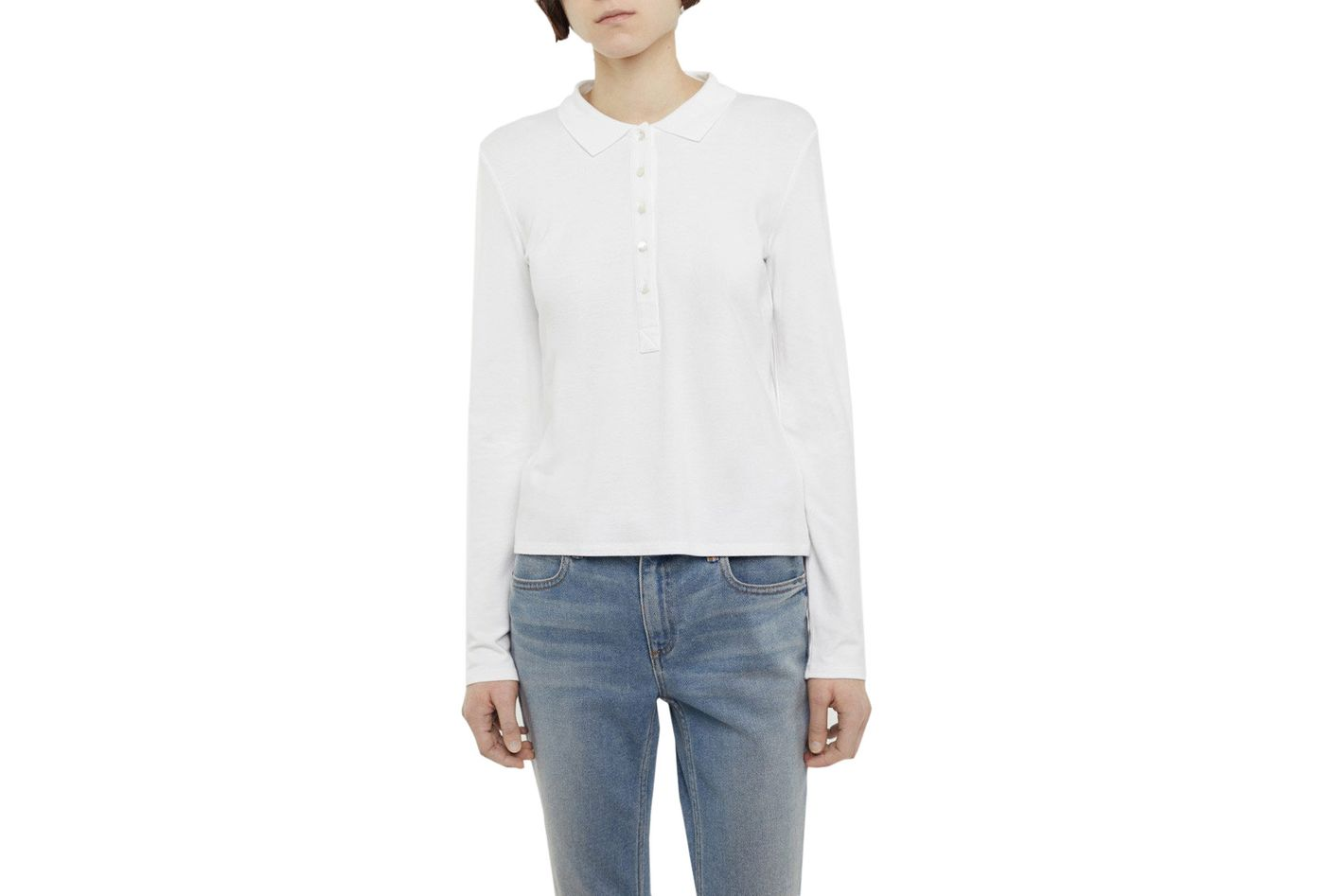 T by Alexander Wang Polo Tee