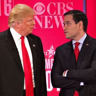 CBS News And The RNC Sponsor The Republican Presidential Primary Debate