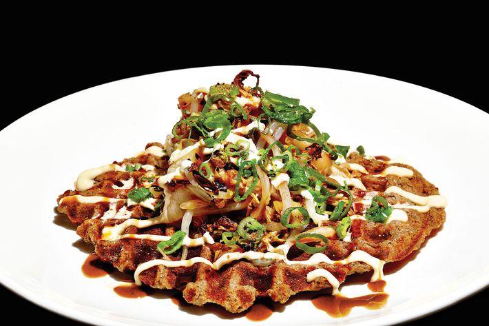 Ivan Ramen's Lancaster okonomiyaki.