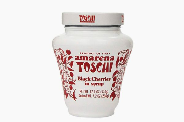 Amarena Toschi Italian Black Cherries in Syrup